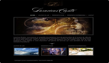 luxurious - events